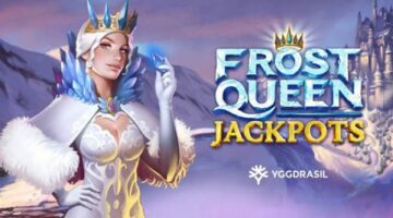 Yggdrasil embraces winter with icy new video slot Frost Queen Jackpots