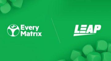 Leap Gaming latest addition to EveryMatrix's CasinoEngine roster