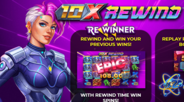 Yggdrasil and 4ThePlayer announce new 10x Rewind online time traveling slot