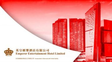Emperor Entertainment Hotel Ltd expects net loss in Macau due to travel restrictions