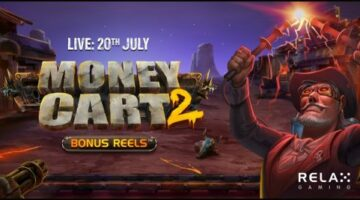 Relax Gaming Limited launches new Money Cart 2 Bonus Reels video slot