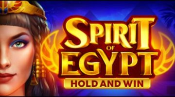 Playson Limited unleashes new Spirit of Egypt: Hold and Win online slot
