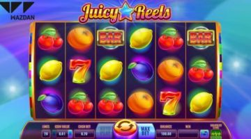 Wazdan delivers a burst of retro goodness with its latest video slot Juicy Reels