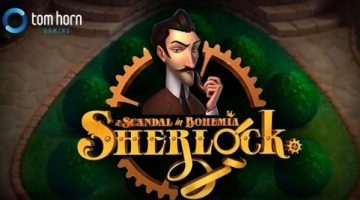 Challenge your detective skills with the new Tom Horn innovative slot title Sherlock: A Scandal in Bohemia