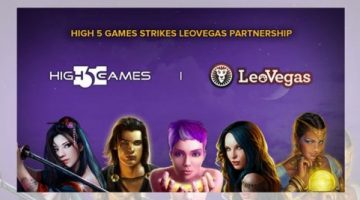 High 5 Games new partnership with LeoVegas Group to expand global reach