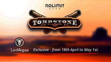 """Latest video slot from Nolimit City, """"Tombstone"""" launches exclusively with LeoVegas"""