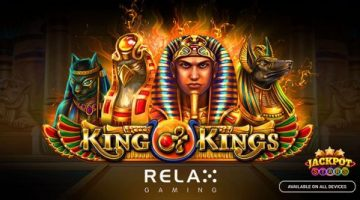Relax Gaming delivers epic Egyptian challenge with new King of Kings slot