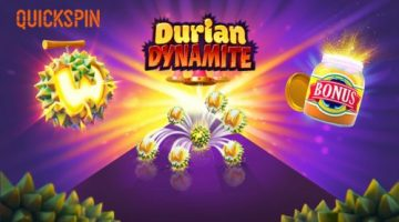 """Take a bite out of the """"King of fruit"""" in Quickspin's new game Durian Dynamite coming April 9"""
