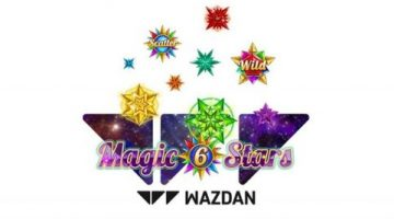 Wazdan's new slot game Magic Stars 6 takes players on an adventure through space