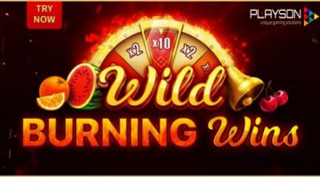 Playson Limited getting hot with Wild Burning Wins: 5 Lines