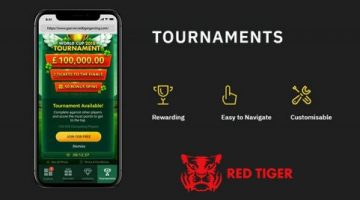 Red Tiger Gaming introduces its new Tournaments gamification tool