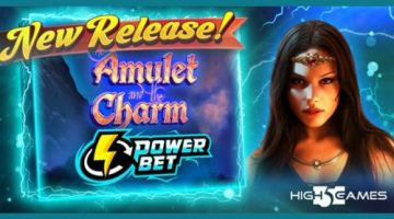 """Enter a fantasy world in High 5 Games' new online slot game """"The Amulet and the Charm Power Bet"""""""