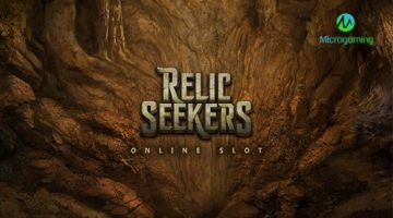 Pulse 8 Studios' new online slot Relic Seekers available exclusively to Microgaming operators