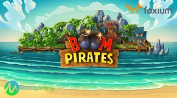 Brave the seven seas with Microgaming's new slot Boom Pirates developed exclusively by Foxium