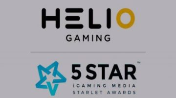 Helio Gaming scoops Lottery Supplier of the Year award at Starlet Awards