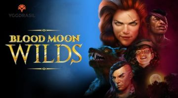 Werewolves spring to life in Yggdrasil's newly released Halloween thriller Blood Moon Wilds