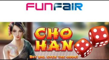 Cho Han dice game premiered by FunFair Technologies Europe Limited