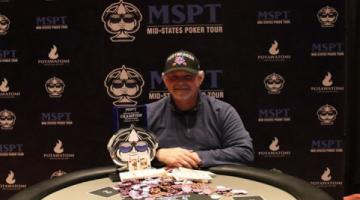 Gerald Heath earns 2019 MSPT Wisconsin State Poker Championship Main Event win