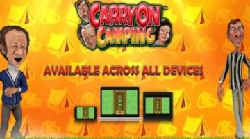 """Blueprint Gaming adds to its popular Pub Fruit Series with new online slot """"Carry on Camping"""""""