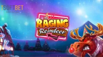 iSoftBet reveals new online slot, Raging Reindeer