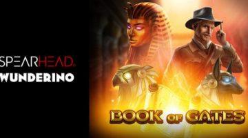 Spearhead Studios launches new Book of Gates online slot via Wunderino