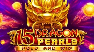 Booongo reveals new 15 Dragon Pearls online slot game