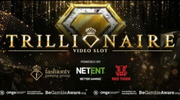 NetEnt AB partnership releases the new Trillionaire video slot