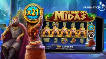 Pragmatic Play relives legendary Greek myth via new online slot The Hand Of Midas