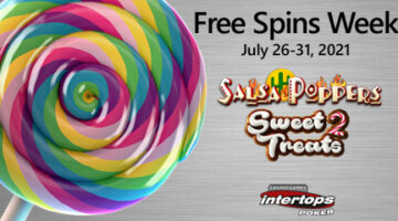 Intertops Poker announces new online extra spins week with top-rated Nucleus Gaming titles