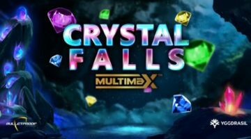 Yggdrasil introduces YG Masters partner Bulletproof Games' new video slot Crystal Falls MultiMax; first title to incorporate the GEM