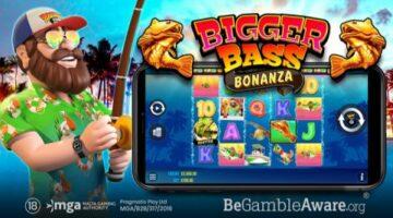 Pragmatic Play launches partner Reel Kingdom's new online slot title Bigger Bass Bonanza